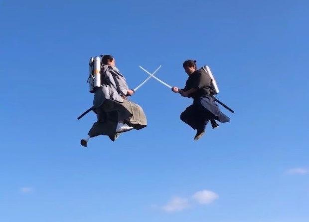 japan jet samurai softbank flying fight