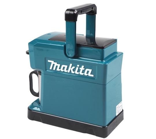New Makita coffee maker runs on power tool batteries | Japan