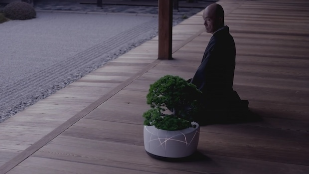 bonsai ai artificial intelligence technology plant robot japan