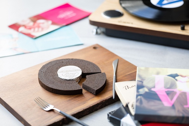 baumrecords baumkuchen augmented reality cake musical