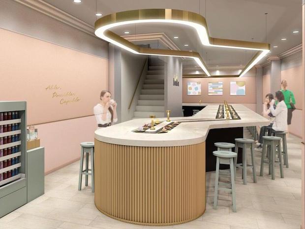conveyor belt dessert sweets restaurant tokyo