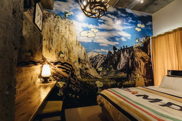 peanuts hotel japan kobe snoopy guest rooms