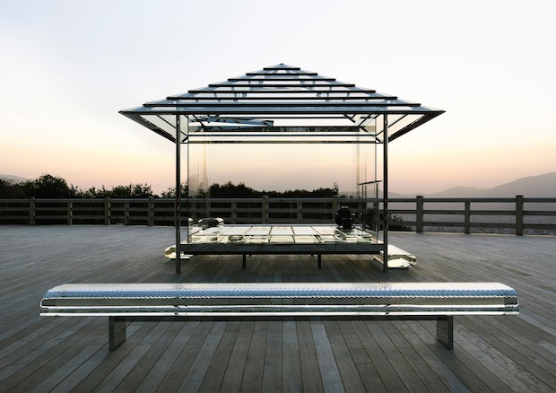 kou-an glass teahouse tokujin yoshioka saga tokyo museum exhibition
