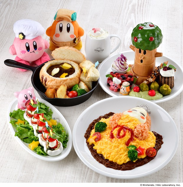 kirby cafe tokyo food japan drinks character dishes unique skytree solamachi drink features 27th mall host once opening pop again