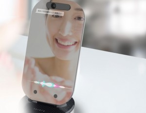 novera talking mirror smart japan