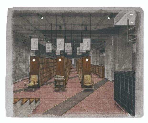 bunkitsu bookstore cafe space roppongi tokyo