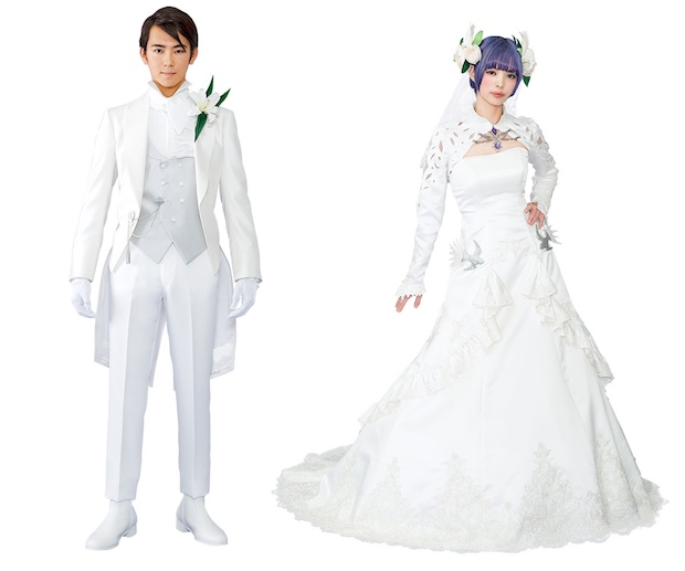 final fantasy wedding marriage ceremony service japan video game fans kobe real-world