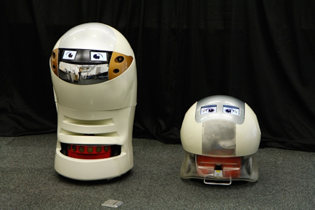 japanese robot comedy manzai standup act jokes