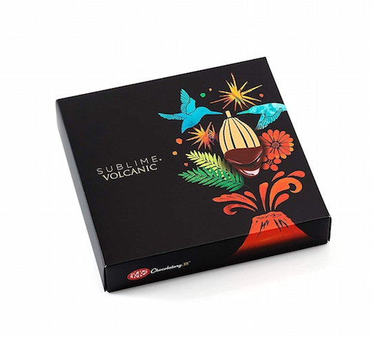 nestle japan kitkat volcanic sublime chocolatory snack chocolate cocoa beans