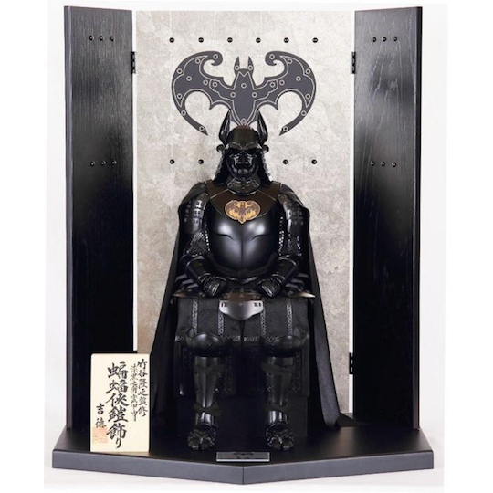 batman yoroi samurai armor doll display set japan