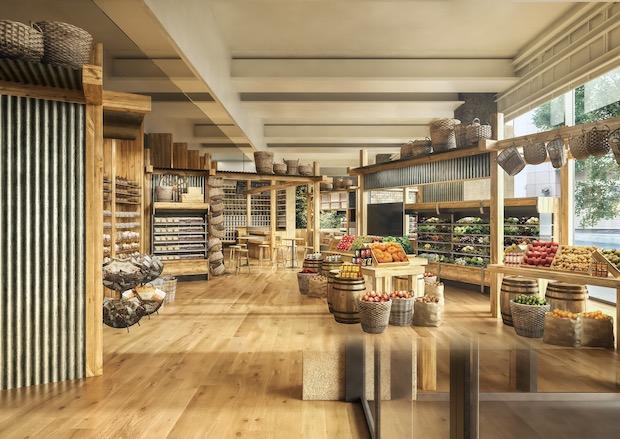 muji ginza hotel global flagship store food tokyo japan