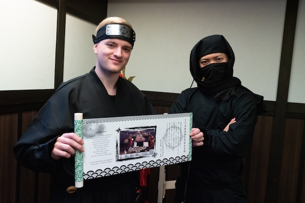 ninja tokyo virtual reality experience japan tourists