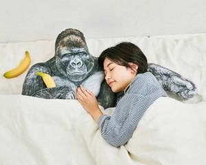 shabani gorilla pillow arm cushion japan handsome