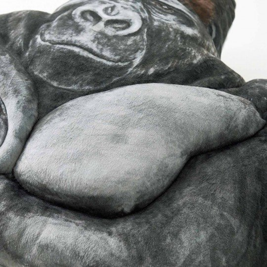 shabani gorilla pillow arm cushion japan handsome