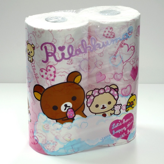 japan unique toilet paper product design anime manga one piece rilakkuma dragon ball emperor imperial family