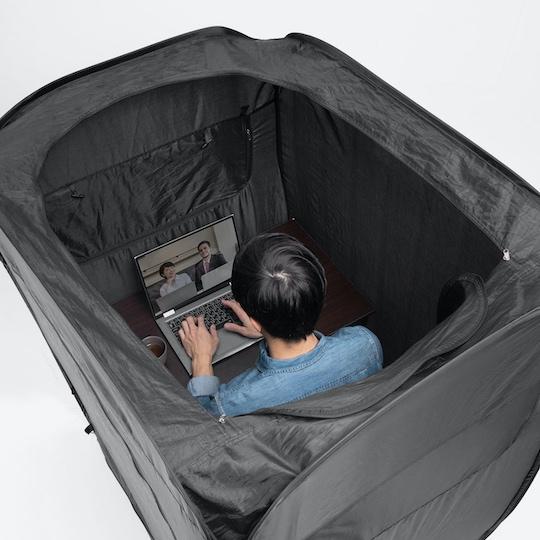 Sanwa Home Privacy Tent indoor booth japan teleworking