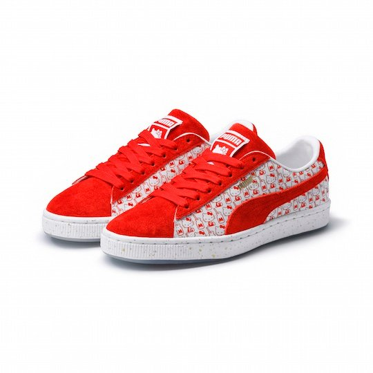 Puma Hello Kitty Suede Classic Sneakers