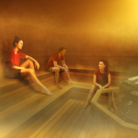 teamLab Reconnect: Art with Rinkan Sauna