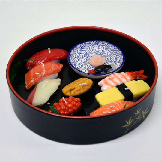 japanese candles unique designs food replica drink warosoku