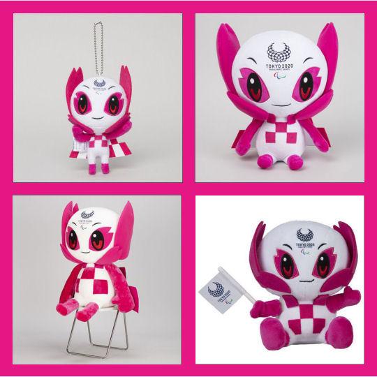 someity paralympics 2020 2021 tokyo games mascot merchandise